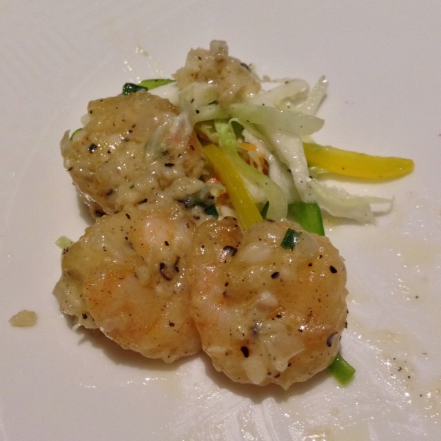 """These were the best shrimp I have ever eaten.  Indians always call them """"prawns."""""""