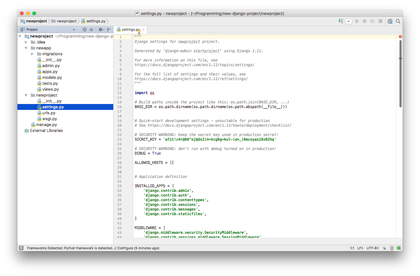 PyCharm - Python Editor