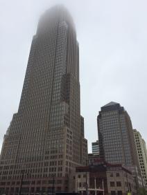 Cleveland has a nice skyline.