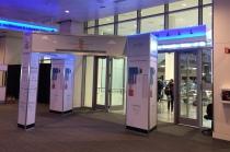 The expo hall entrance