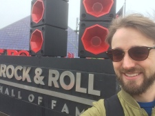 Outside the Rock and Roll Hall of Fame