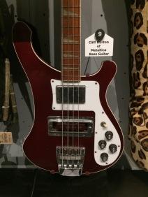 Cliff Burton's Bass Guitar (Metallica)