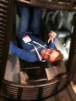Inside the Mercury Capsule