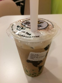 Tiramisu bubble tea