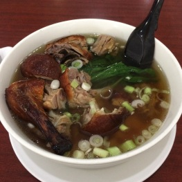 Roast duck soup